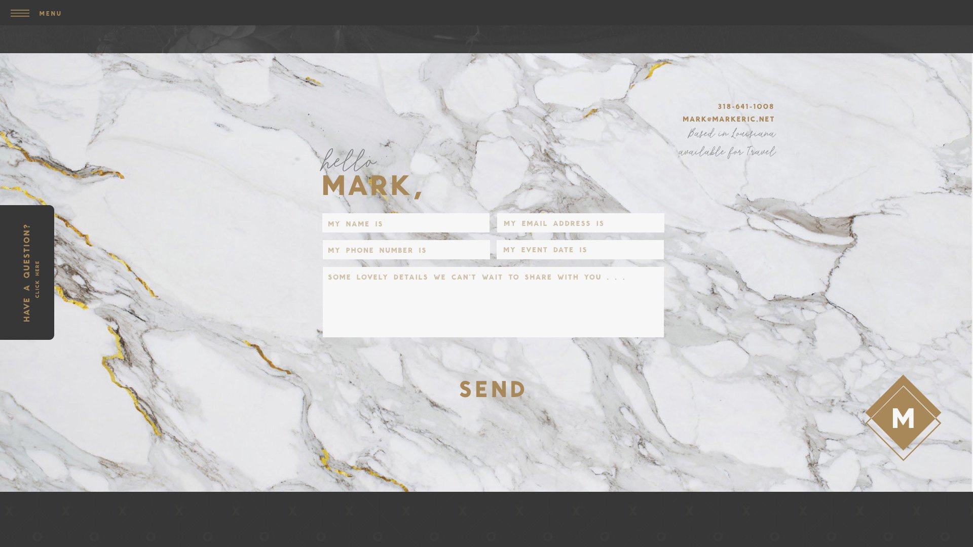 Mark's Contact Page