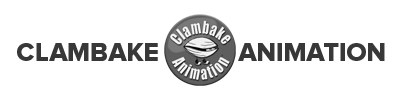 A Photo Clambake Animation Logo