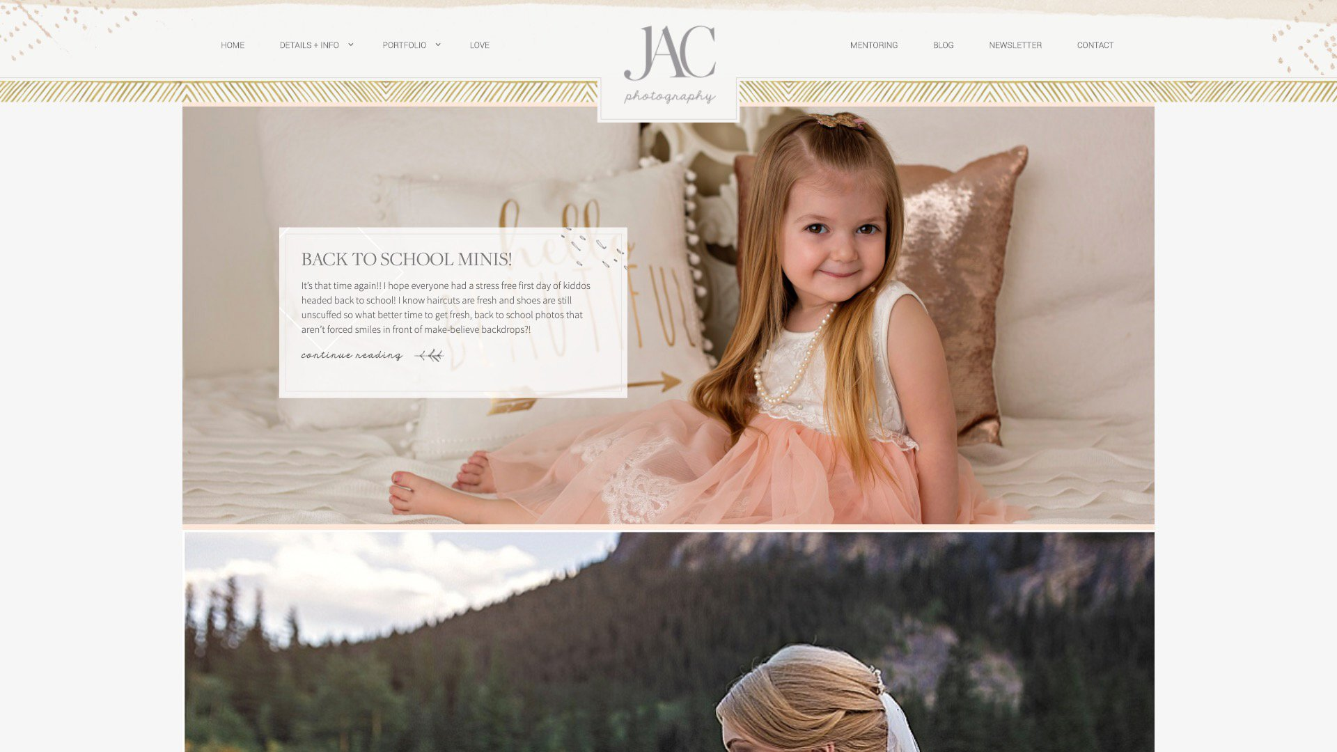 A Photo Of JAC Photography's Blog Page